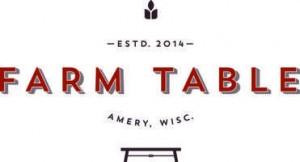 Sponsors Earth Arts - Farm table amery wi