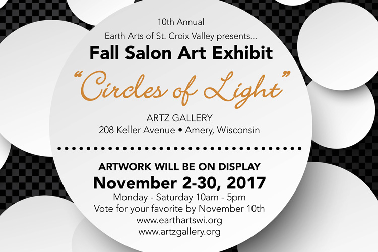 Join us for the Fall Salon - Nov. 2017